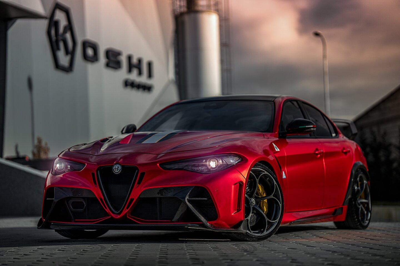 Alfa Romeo Giulia GTAm Project