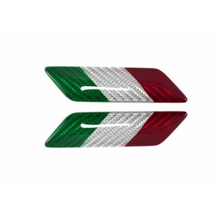 Tricolore Koshi Emblem Carbon