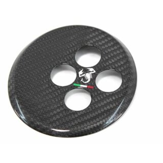 Abarth 500 595 Koshi Automatik Schaltkulisse Carbon Tricolore Skorpion Logo