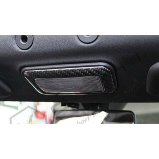 Abarth 500 Koshi Innenbeleuchtung Cover Carbon