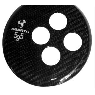 Abarth 500 595 Koshi Skorpion Automatik Schaltkulisse Carbon