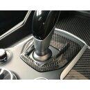 Alfa Romeo Giulia Koshi Schaltkulissencover Carbon