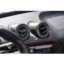 Alfa Romeo 4C Koshi Lüftungsdüsencover Kit schwarz Carbon
