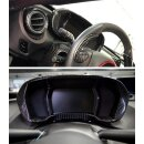 Alfa Romeo 4C Koshi Tachoabdeckung schwarz Carbon