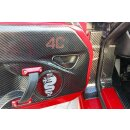 Alfa Romeo 4C Koshi Türgriffcover innen schwarz Carbon