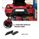 Alfa Romeo 4C Koshi Diffusorflaps Zentralauspuff Carbon