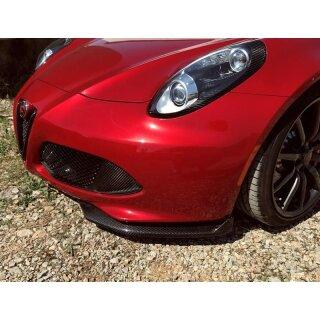 Alfa Romeo 4C Koshi Frontspoilerlippe Flaps Carbon