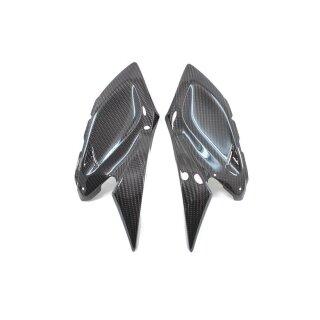 Kawasaki Z1000 Koshi kleine Seitenteile Carbon