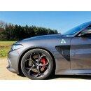 Alfa Romeo Giulia QV Koshi Kotflügel Luftauslass Carbon
