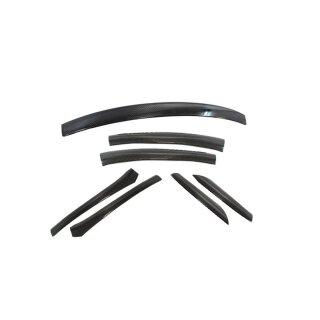 Mercedes Benz SLK R172 Koshi Dachleistencover Carbon schwarz