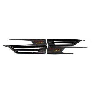 Mercedes Benz SLK R172 Koshi extreme Acute Kotflügel Lufteinlass Carbon