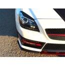 Mercedes Benz SLK R172 Koshi Scheinwerfercover Carbon