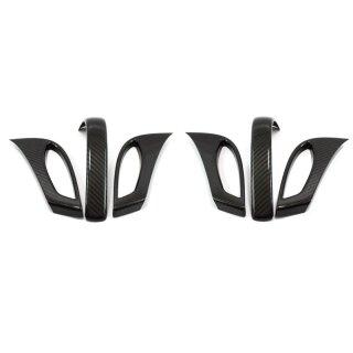 Mercedes Benz SLK R172 Koshi Sitzverstellung Cover schwarz Carbon