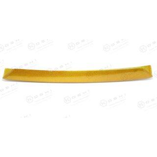 Abarth 595 Koshi Frontspoilerlippe gelb Carbon