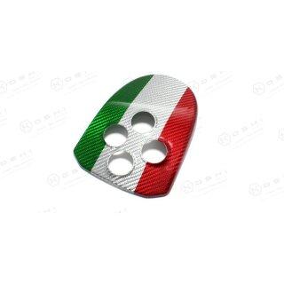Alfa Romeo 4C Koshi MTA Cover italienische Flagge Carbon