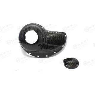 Harley Davidson V-ROD Koshi Kupplungscover Carbon