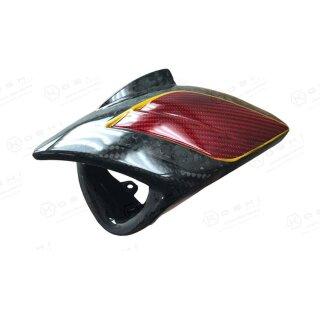 Harley Davidson V-ROD Koshi Frontscheinwerfer Shark Design Carbon
