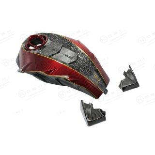 Harley Davidson V-ROD Koshi Tank Shark Design Carbon