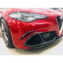 Alfa Romeo Giulia QV Koshi Frontstoßstange Flap Carbon
