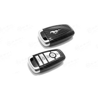 Ford Mustang V Koshi Schlüsselcover Carbon schwarz