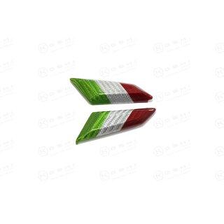 Ducati Panigale V4 S Koshi Abdeckung für Spiegelhalterung italian flag Carbon