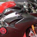 Ducati Panigale V4 S Koshi Seitenverkleidung Tank Carbon