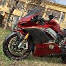 Ducati Panigale V4 S Koshi Seitenverkleidung Tank Freccia...