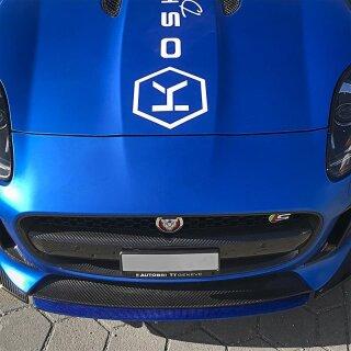 Jaguar F-Type Koshi Zentrallippe Carbon