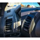 Jaguar F-Type Koshi Lüftungsdüsencover Carbon