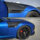 Jaguar F-Type Koshi Seitenverkleidung Cover Carbon