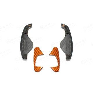 Jaguar F-Type R Koshi Schaltpaddle orange Carbon