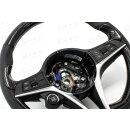 Alfa Romeo Giulia Stelvio Koshi Lenkrad Daumengriffcover Carbon