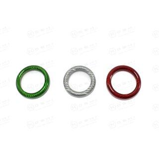 Alfa Romeo Giulietta Koshi Regler Mittelkonsole Cover tricolore Carbon