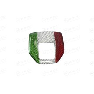 Alfa Romeo Stelvio Koshi Schaltkulissencover tricolore Carbon
