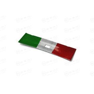 Alfa Romeo Giulia Koshi Mittelkonsole Lüftungsdüsencover tricolore Carbon