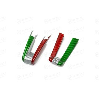 Alfa Romeo Giulia Stelvio QV Koshi Lenkradcover unten tricolore Carbon
