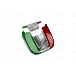 Alfa Romeo Giulia Koshi Innenrückspiegel Cover tricolore Carbon