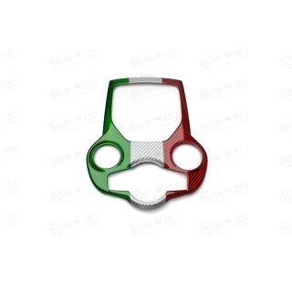 Alfa Romeo Stelvio Koshi Mittelkonsolencover tricolore Carbon