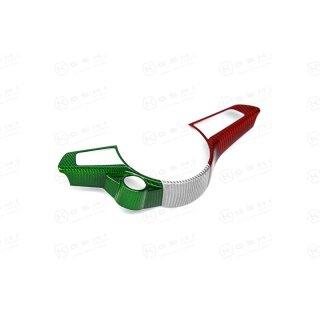 Alfa Romeo Giulia Stelvio QV Koshi Lenkradcover tricolore Carbon